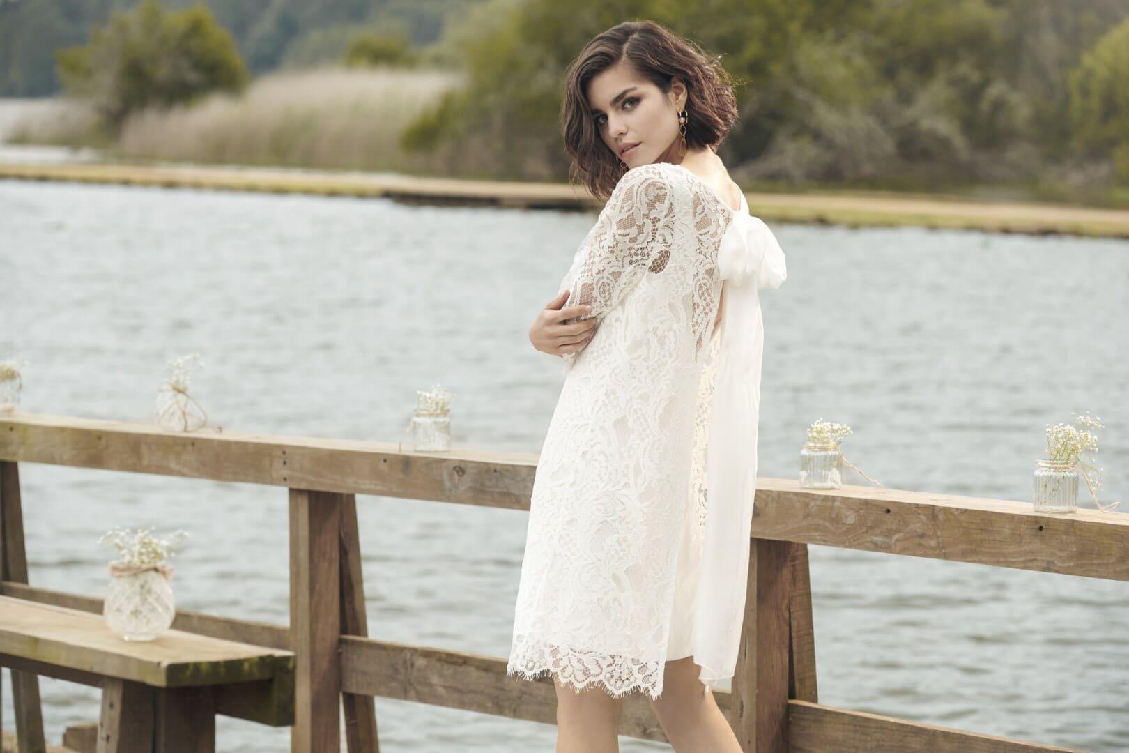 Kurze Brautkleider sind elegant und modern